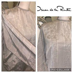 Oscar de la rents vintage blouse